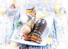 cuisiner queue de langoustes crues surgel馥s 2 queues de langoustes caraïbes crues surgelé gamme sélection br