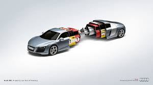 cartoon audi r8 8 audi print ads that made people head to a dealership audiworld
