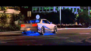 nissan skyline fast and furious interior 2 fast 2 furious nissan skyline gtr r34 r i p paul walker youtube