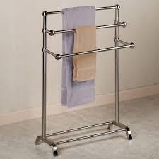 bathrooms design basic towel bar chrome and brass bathroom bars