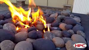 Rocks For Firepit Outdoor Pit Ceramic River Rock