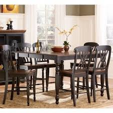 black dining room table set 7 black dining set foter