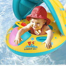 siege enfant gonflable alians bateau gonflable bébé flotteur anneau de natation voiture