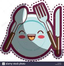kitchen utensils cartoon character stock vector art u0026 illustration
