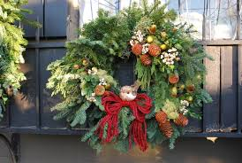 unique outdoor christmas wreaths 30 for exterior design ideas with