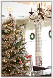 kitchen christmas tree ideas from my front porch to yours farmhouse vintage christmas living room