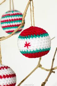 crocheted christmas baubles pattern crochet christmas