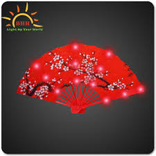 folding fans bulk hot selling folding fans neon party favors fans bulk