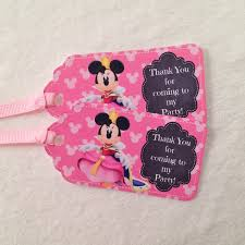 minnie mouse party supplies 10 minnie rella mickey mouse s clubhouse party favor