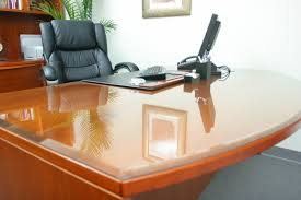 Plastic Desk Cover Protector Glass Cover For Table Table Designs