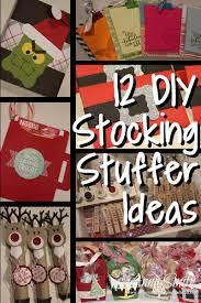 Stocking Stuff 12 Diy Stocking Stuffer Ideas Scrapping Stamping And Stuff
