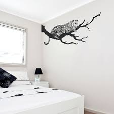 jaguar on branch wall decal