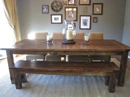 farmhouse table with bench and chairs new and improved farmhouse table details tommy ellie