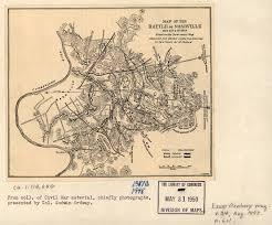 Nashville On Map Photos Battle Of Nashville Preservation Society Inc