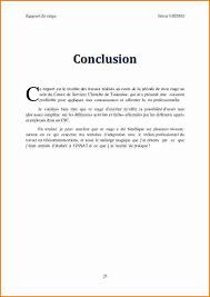 rapport de stage 3eme cuisine conclusion dun rapport de stage