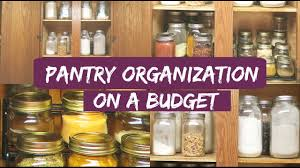 small pantry organization ideas organize with me organize with
