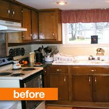 how to whitewash painted cabinets before after a white washed kitchen apartment therapy