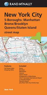 nyc oasis map folded map york city 5 boroughs manhattan bronx