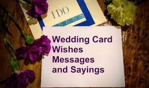 wedding wishes note wedding messages wishes messages sayings