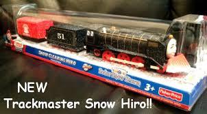 trackmaster thomas motorized snow clearing hiro train 2012