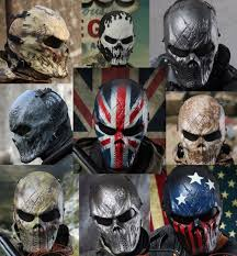 halloween 4 mask ebay m06 airsoft paintball cosplay full face protection skull mask