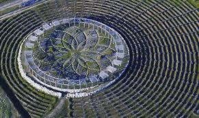 Reaganfordinterior 7 Shelby Michigan Labyrinth The Amazing Lavender Labyrinth