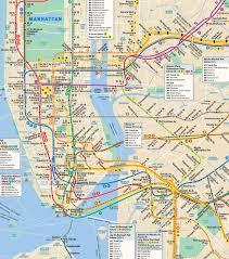 Map Nyc Subway Nyc Subway Map Directions Mta Subway Map Directions New York Usa