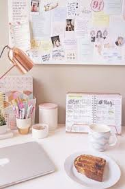 My Gold Desk Rose Gold Office Supplies Marble Office Decor Desk Decor Ideas