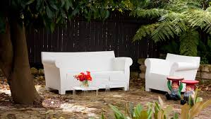 the award winning design of the kartell bubble club sofa created