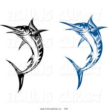 blue martini clip art swordfish clipart clip art of jumping blue and black and white