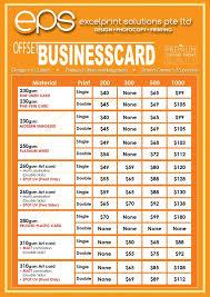 Singapore Business Cards Business Cards Namecards Print U0026 Design Printing Services