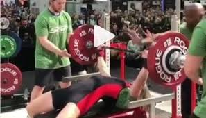World Bench Press Record She Squat 399 Pounds World Record Video