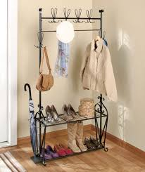entryway rack entryway bench with coat rack foyer design design ideas