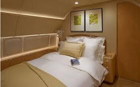 chambre privé voyage en jet privé le top des aménagements les plus luxueux