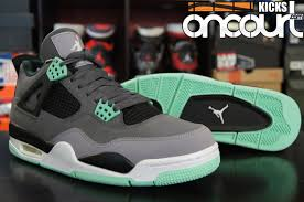 green glow 4 air 4 retro green glow detailed look review weartesters