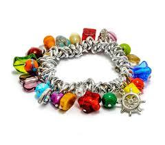 murano charm bracelet images Dalia murano glass bracelet millefiori handmade millefiori jpg