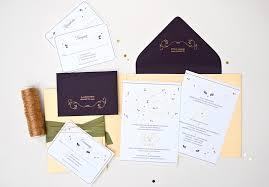 Modern Indian Wedding Invitations Anjali Suchit U0027s Elegant Gold Foil Hindu Wedding Invitations