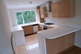 Cream Kitchen Cabinets With Blue Walls Small U Shaped Kitchen Remodel Dark Wood Kitchen Cabinets Beige