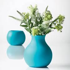 unusual vases unbreakable rubber vase the green head