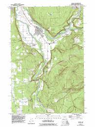 Eatonville Washington Map by Orting Topographic Map Wa Usgs Topo Quad 47122a2