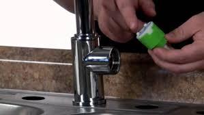 bronze fix leaking kitchen faucet centerset single handle side