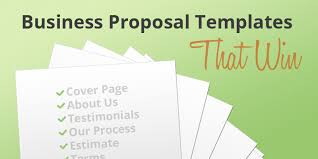 business proposal templates the proposable blog