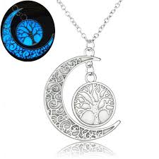 brand necklace aliexpress images Luxury brand jewelry silver color with tree of life pattern jpg