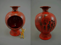 vintage tea light holders vintage tea light holder candle holder ceramano decor granat