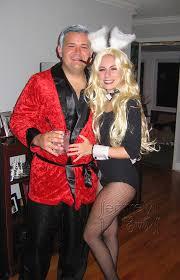 Playboy Halloween Costume Hugh Hefner Playboy Bunny Couples Costume Bigdiyideas
