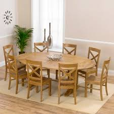 oval dining table for 8 carver oak oval extending dining table with 8 chairs awesome for 1