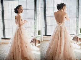 Blush Wedding Dress A Romantic Touch Of Color 25 Sweet Blush Wedding Gowns Praise