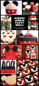 mickey mouse birthday ideas mickey mouse party ideas two