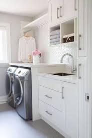 laundry room storage drying racks bins interior decor