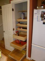 winsome sliding pantry shelves fine decoration kitchen cabinet